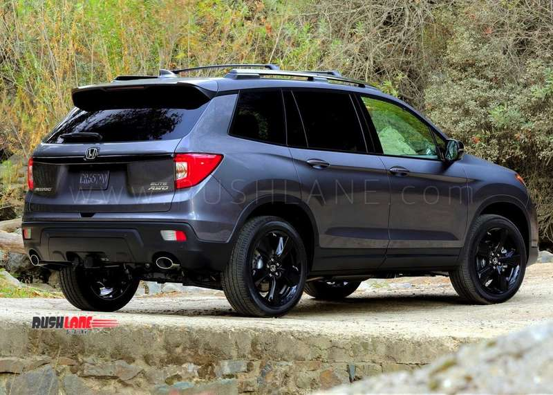 New Honda Passport 5 seater SUV launched - Bigger than CRV