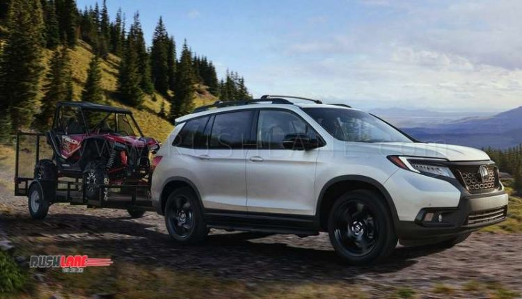 Honda Pilot Towing Capacity >> New Honda Passport 5 seater SUV launched - Bigger than CRV