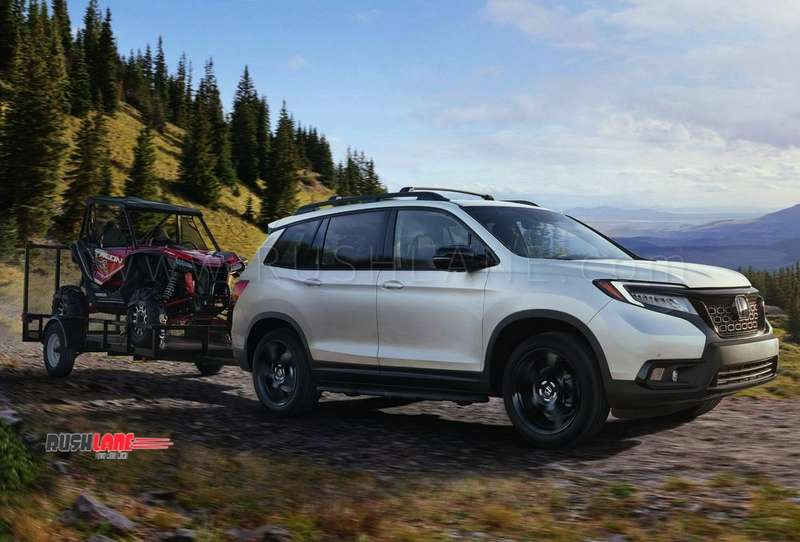 new honda passport 5 seater suv launched