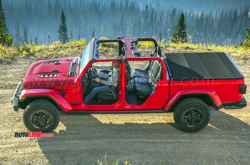 Jeep Gladiator Suv Debuts With 282 Mm Gc Bigger Than