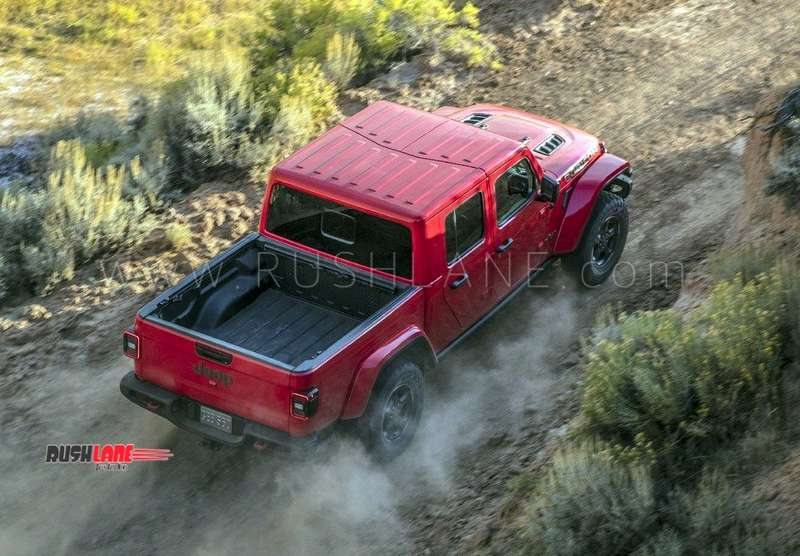Diesel Jeep Wrangler For Sale >> Jeep Gladiator SUV debuts with 282 mm GC - Bigger than