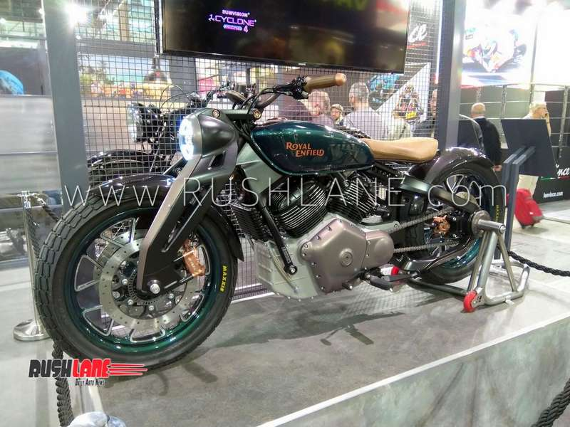 Royal Enfield Bobber 838 Cc Detailed In New Photos Specs