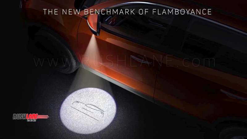Tata Harrier Suv Gets Puddle Lamps Like Land Rover