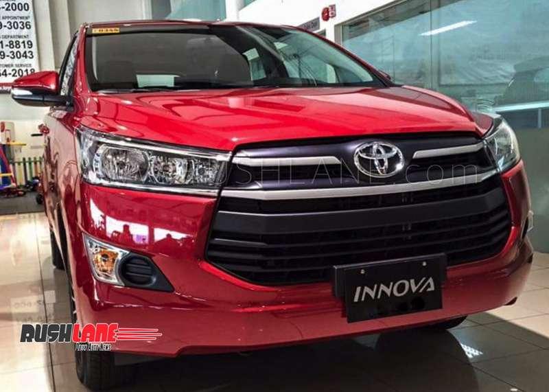 Toyota Company Latest Models >> Toyota Innova Crysta Yaris Etios Corolla Prices To