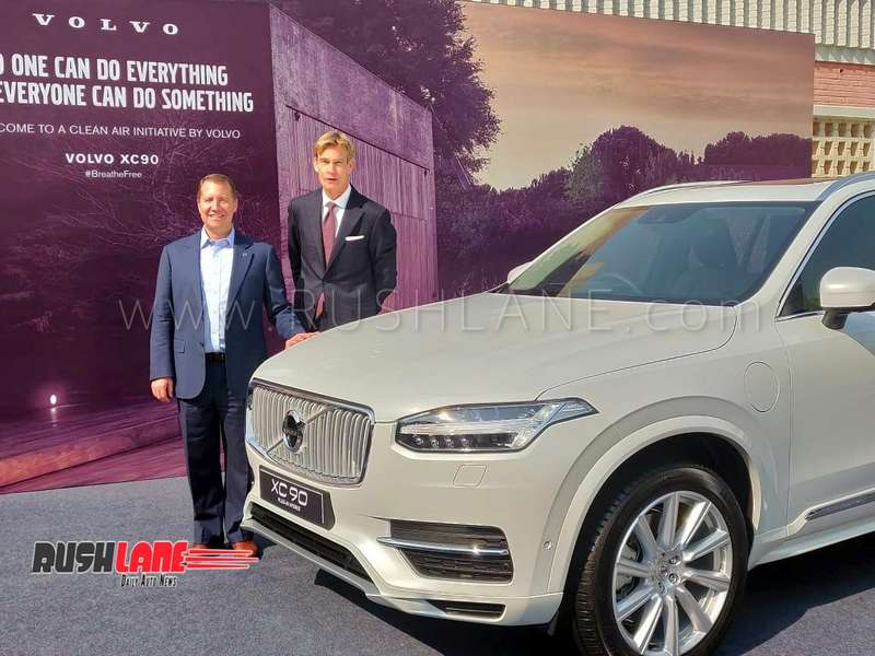 Volvo Xc90 Hybrid Will Be Locally Assembled In India Price