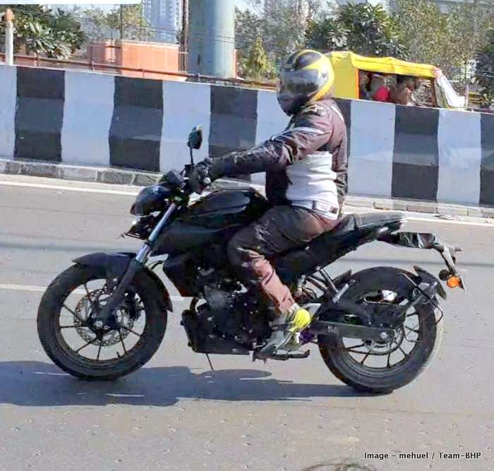 Yamaha Mt15 Spied In India Based On R15 V3 Misses Out