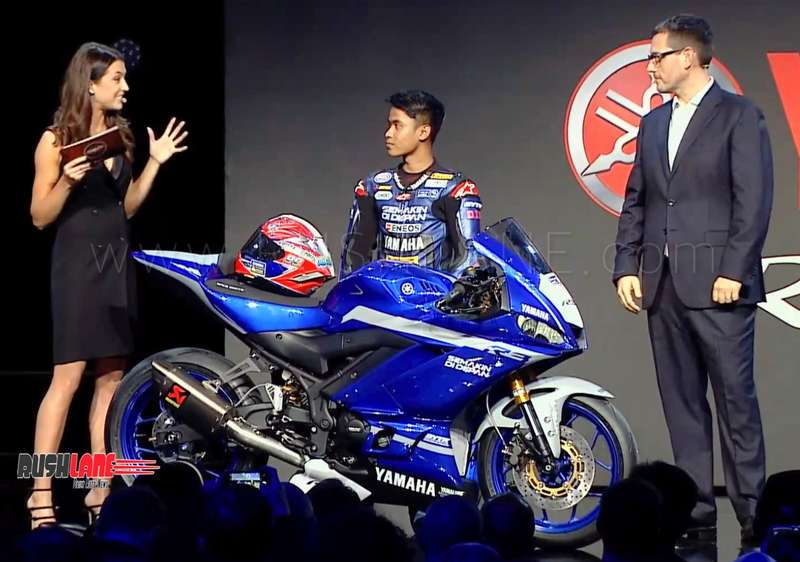 2019 Yamaha R3 GYTR debuts - Track only machine built to race