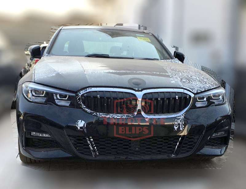 2019 Bmw 3 Series Spied In India For The First Time Ahead Of Launch