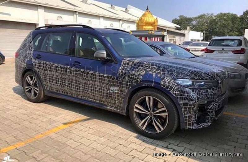 Bmw X7 Suv Spied In India For The First Time Before Launch