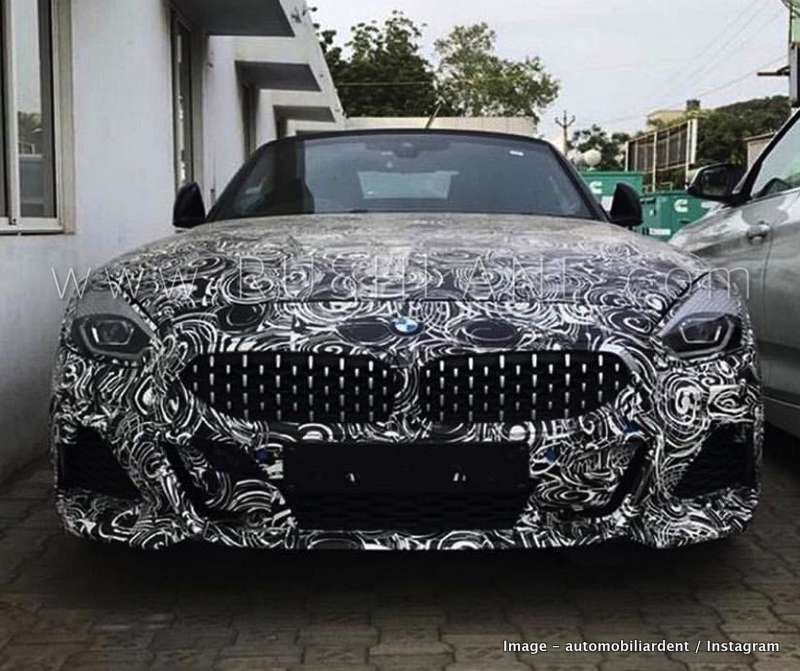 2019 BMW Z4 Spied In India For The First Time Ahead Of Launch