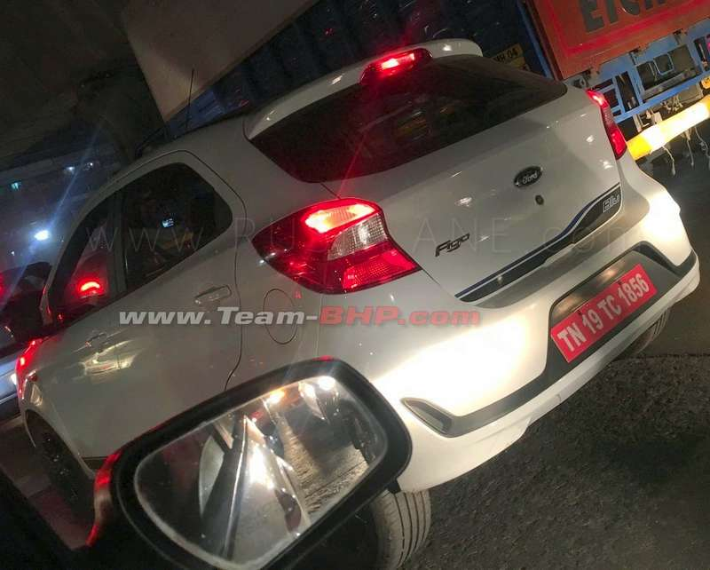 2019 Ford Figo spied with black alloys and BLU badge - Launch soon