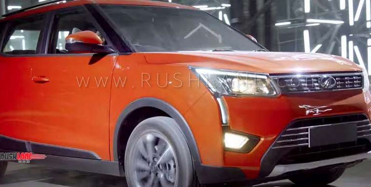 mahindra xuv tvc video features revealed  feb launch