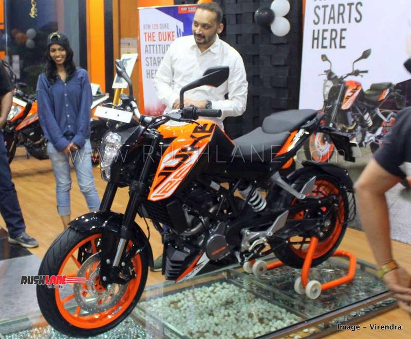 KTM Duke 125 price hike