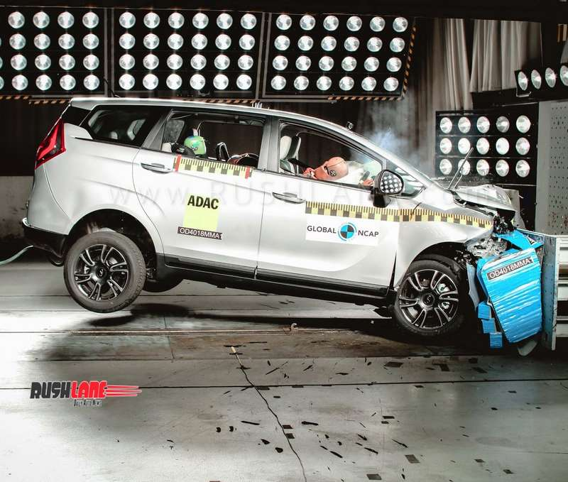 Mahindra Marazzo Crash Tested First Indian Mpv To Score 4 Star Safety