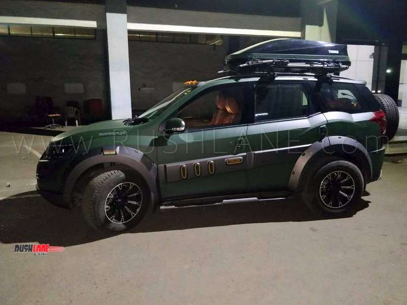 Mahindra Xuv500 Modified To Take On Any Road With Utmost