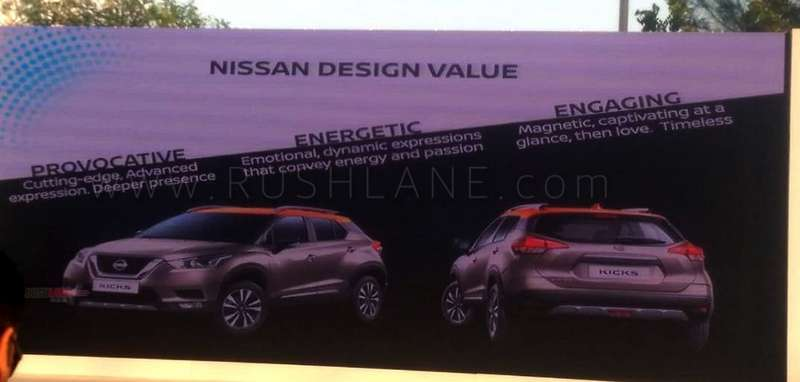Nissan Kicks interior photos, details from media drive at ...