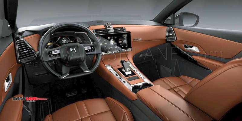 peugeot testing ds7 suv in india spied with tata harrier. Black Bedroom Furniture Sets. Home Design Ideas