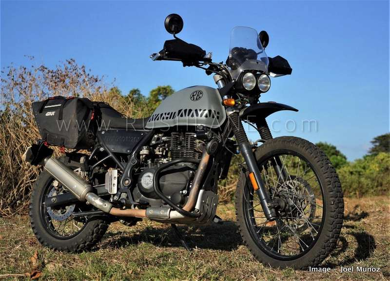 Royal Enfield Himalayan Modified By Owner Made Lighter Nimbler