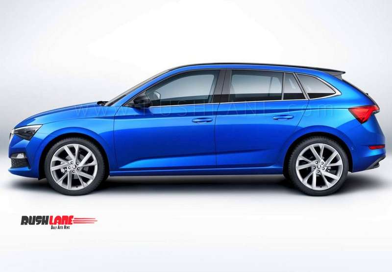 Skoda Scala Makes Global Debut Sits Between Rapid And Octavia