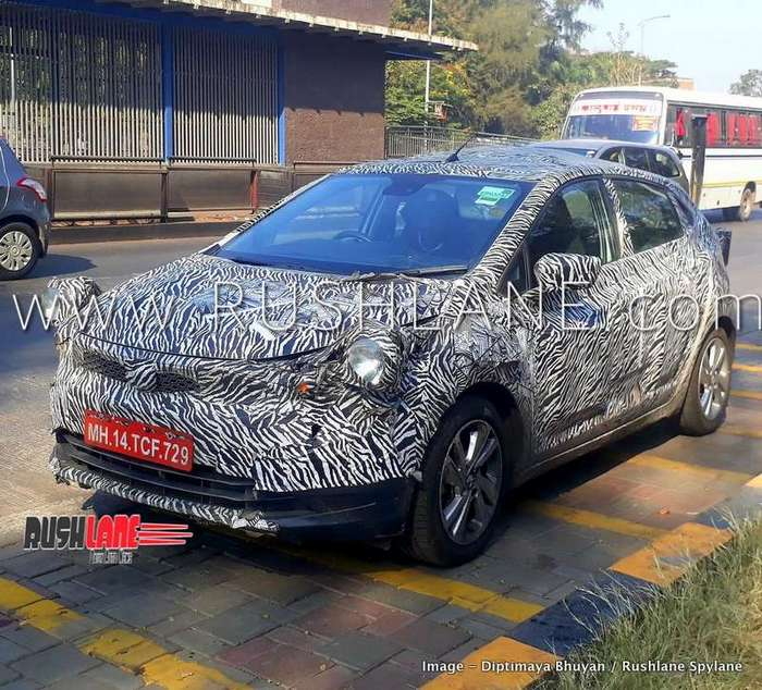 Bmw X7 Price In India: 2019 Tata 45X Hatchback Spied In Detail Ahead Of Launch