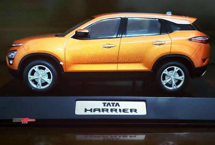 Tata Harrier scale model