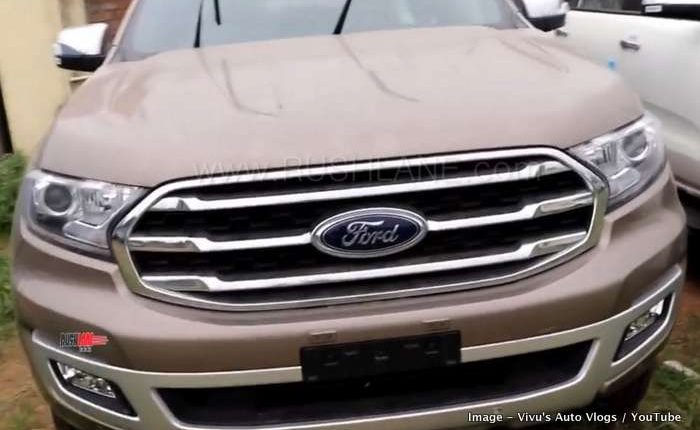 2019 Ford Endeavour first look review details all the