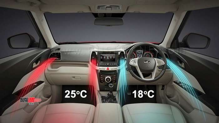 Mahindra Xuv300 Interiors In New Photos 7 Airbags Auto Ac