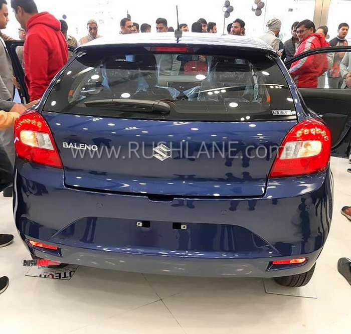 2019 Maruti Baleno First Live Photos From Showroom