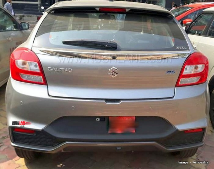 maruti baleno rs facelift delivery starts  minor updates  safety