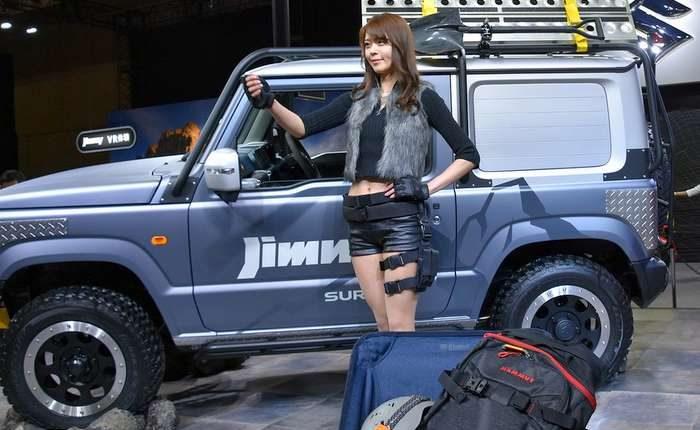 Suzuki Jimny Suv Concept In Pickup Style Variant Makes
