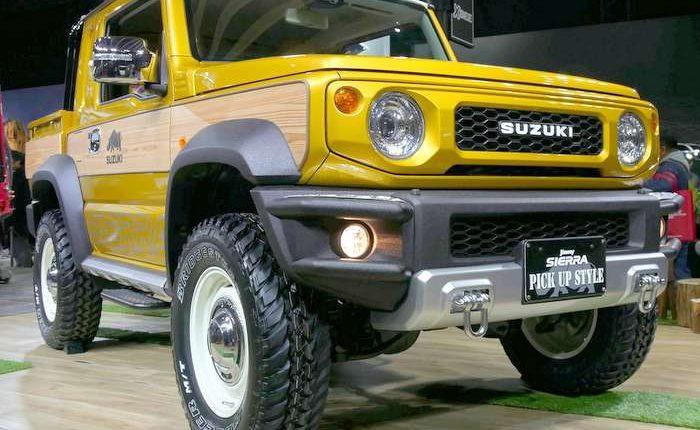 Lieblings Suzuki Jimny SUV concept in pickup style variant makes global debut @EY_07