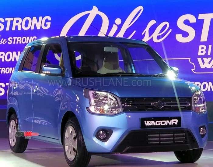 2019 Maruti Wagonr Petrol Launch Price Rs 4 19 Lakh Lighter By 65 Kgs