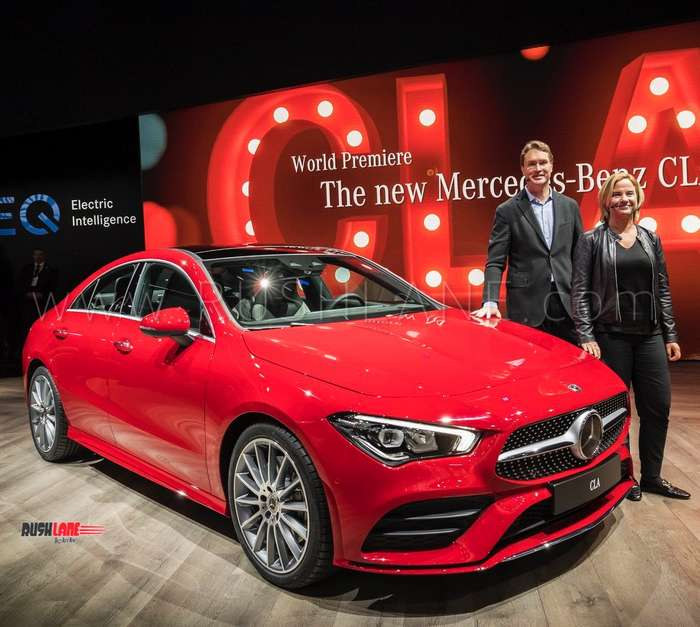 2019 Mercedes CLA Debuts With Hey Mercedes