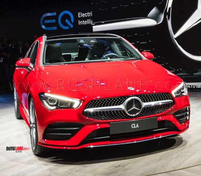 2019 Mercedes Cla Debuts With Hey Mercedes India Launch Later This