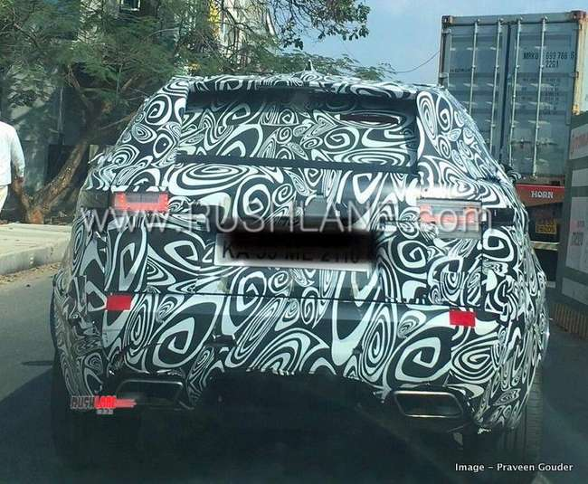 2019 Range Rover Evoque Suv Spied In India Launch Later