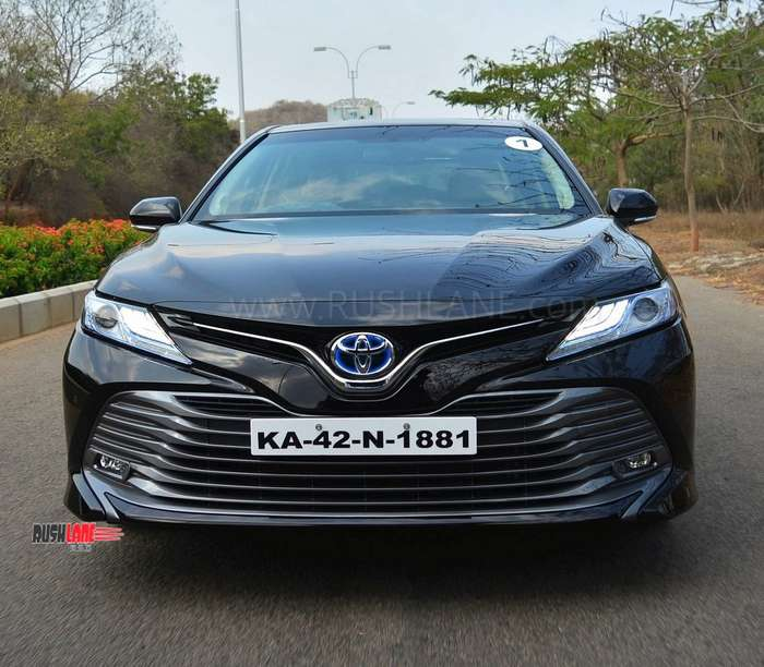 2019 Toyota Camry Review First Drive Of Petrol Hybrid Variant