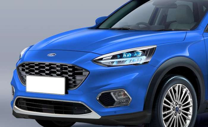 2020 ford ecosport new gen front and rear render based on spy shot