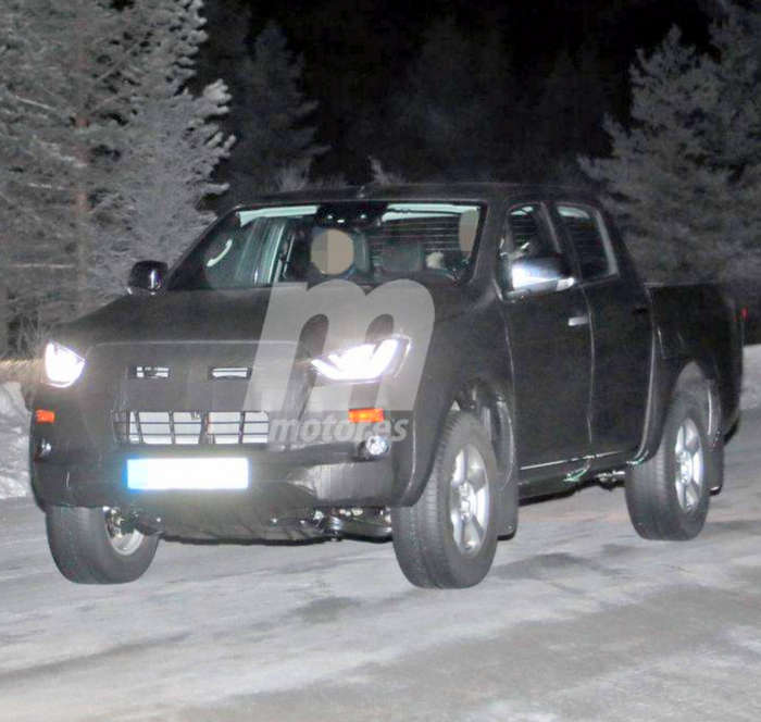 2020 Isuzu D Max Pickup Spied Testing For The First Time