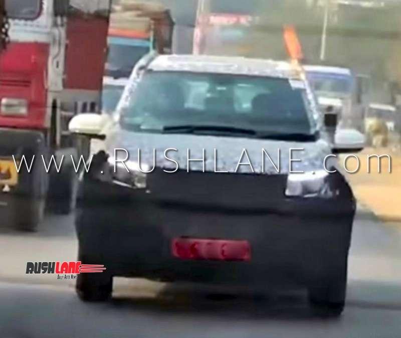 Third Row Suv >> 2020 Mahindra XUV500 to get 2 L 180 hp engine ...