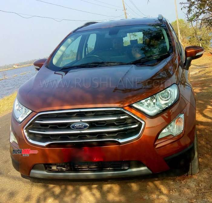 2019 Ford EcoSport Features Updated On Top Trim