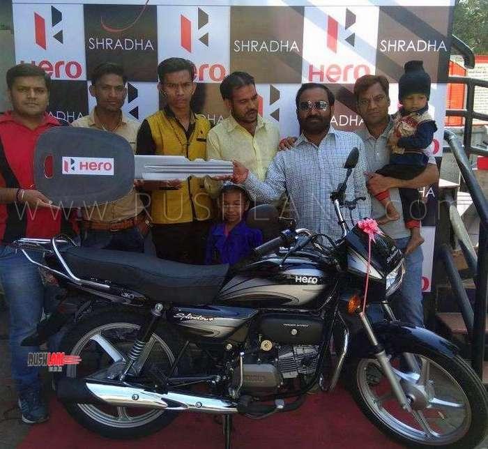 Best selling two wheeler of India. Hero Splendor.