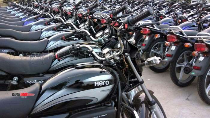 Hero Splendor sales