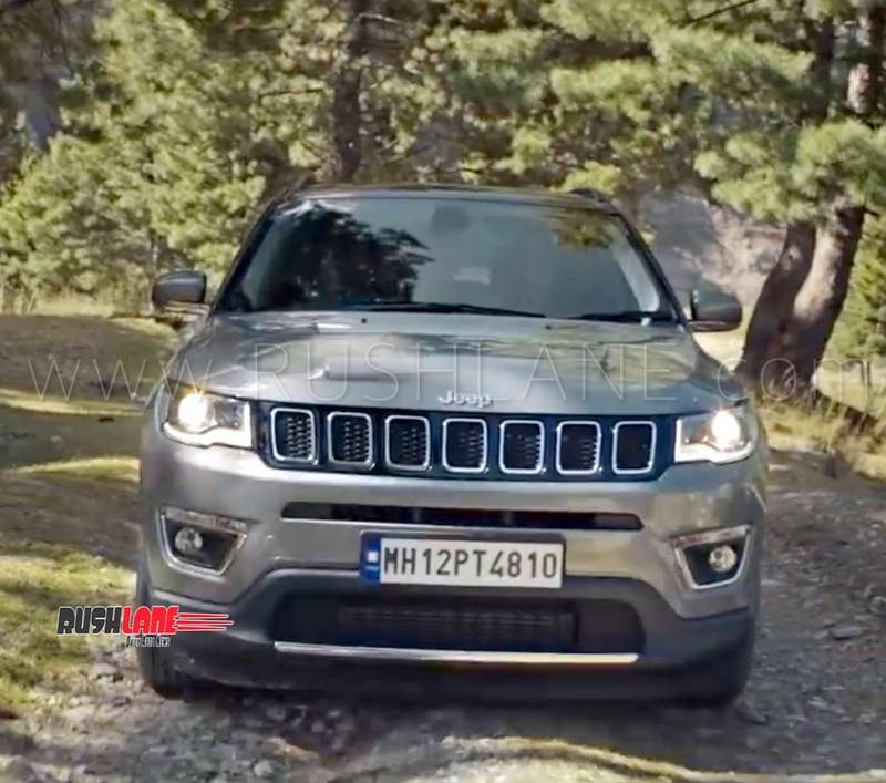 Jeep Compass This Is It Ad Revealed Ahead Of Tata Harrier Launch