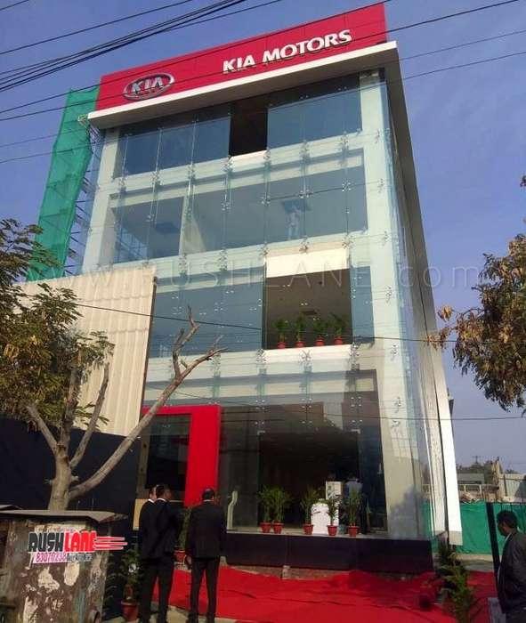 Kia India Showroom First Photos From Noida Dealership