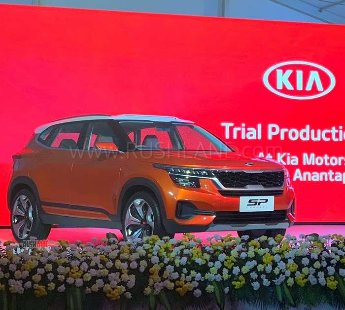 Kia India Plant Starts Trial Production 1st Car Launch In July At