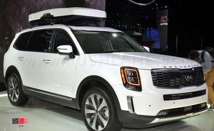 8 Seater Suv >> Kia Telluride SUV debuts - Based on Hyundai Palisade 8 seater