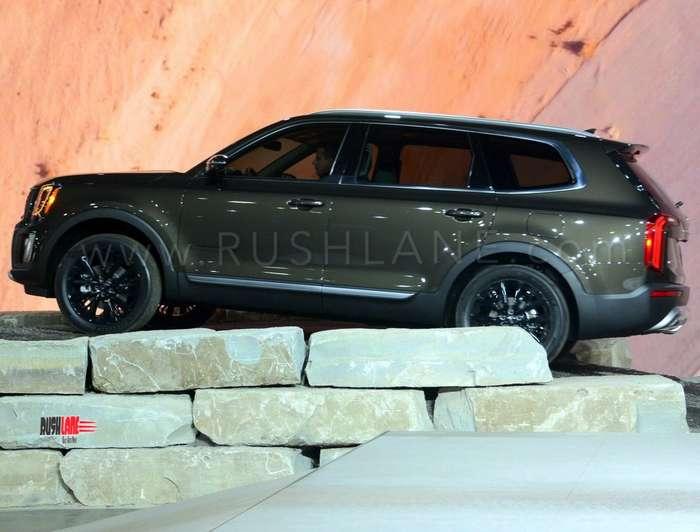 Kia Telluride Suv Debuts Based On Hyundai Palisade 8 Seater