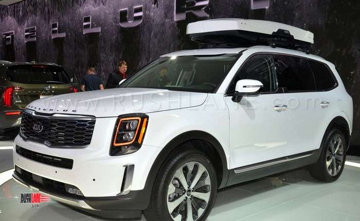 Electric Scooters For Sale >> Kia Telluride SUV debuts - Based on Hyundai Palisade 8 seater