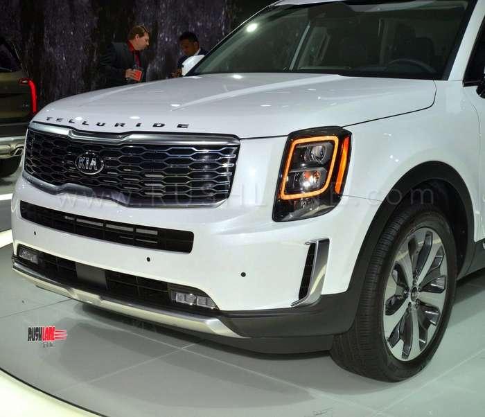 Kia Telluride SUV debuts - Based on Hyundai Palisade 8 seater