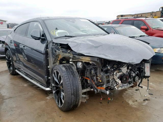 Crashed Lamborghini Urus could sell for approx. Rs 83 L at